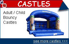 Carribean Theme Bouncy Castle