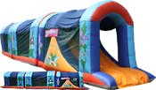 Inflatable Caribbean Obstacle Course