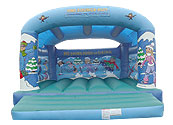 Winter Theme Adult/Child Bouncy Castle