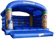 Caribbean Theme Adult/Child Bouncy Castle